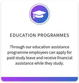 1. Education Programmes