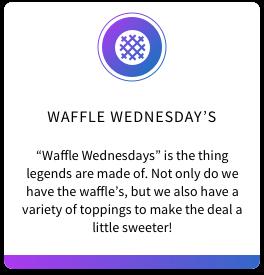 2. Waffle Wednesday