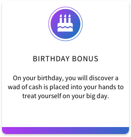 5. Birthday Bonus